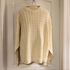 Men's Cotton Sweater - XL
